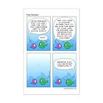Fish Shtick Miniposter Print