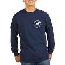 Round L4R Long Sleeve Black or Blue T-Shirt