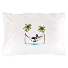 Yorkie Island Princess Pillow Case