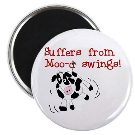 Moo-d Swings Magnet