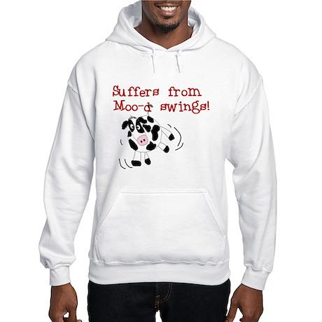 Moo-d Swings Hooded Sweatshirt