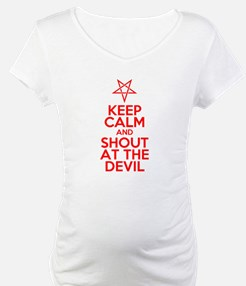 Keep Calm and Shout at the Devil Shirt