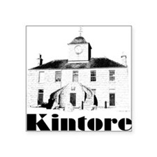 Kintore Town House (black print) Sticker