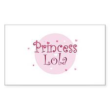 Lola Rectangle Decal