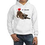 BULLDOG SMILES Hooded Sweatshirt