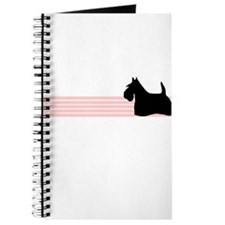 Retro Scottish Terrier Journal