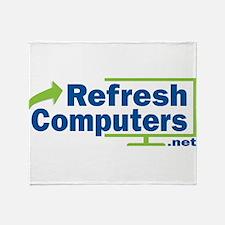 Refresh Computers Throw Blanket