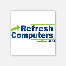 Refresh Computers Sticker