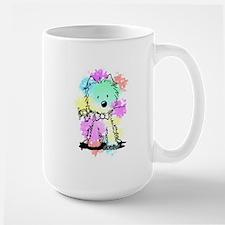 Snowcone Splash Westie Valentine Mug