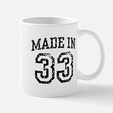 Made In 33 Mug