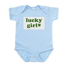 Lucky Girl Infant Bodysuit