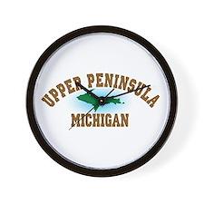 Upper Peninsula Wall Clock
