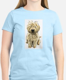 Goldendoodle Women's Pink T-Shirt