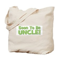 Soon To Be Uncle! Green Tote Bag