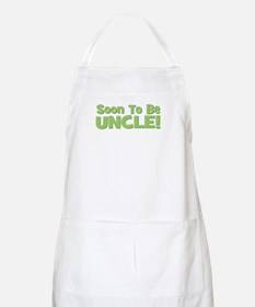 Soon To Be Uncle! Green BBQ Apron