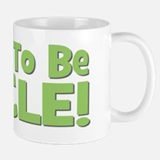 Soon To Be Uncle! Green Mug