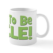 Soon To Be Uncle! Green Small Mug