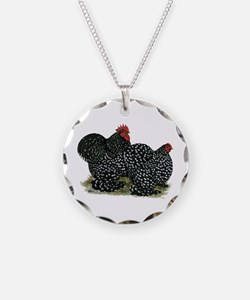 Cochins Mottled Pair Necklace
