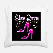 SHOE QUEEN Square Canvas Pillow