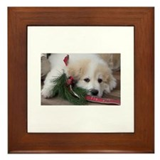 Pyr Pup -- Framed Tile