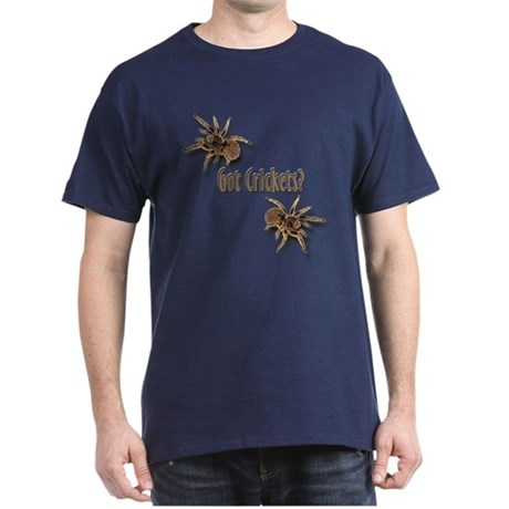 Tarantula Got Crickets (Navy) T-Shirt