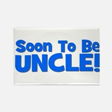 Soon To Be Uncle! Blue Rectangle Magnet