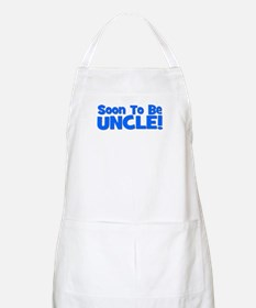 Soon To Be Uncle! Blue BBQ Apron