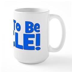 Soon To Be Uncle! Blue Mug
