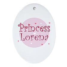 Lorena Oval Ornament