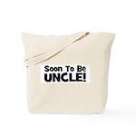 Soon To Be Uncle! Black Tote Bag