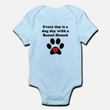 Basset Hound Dog Day Body Suit