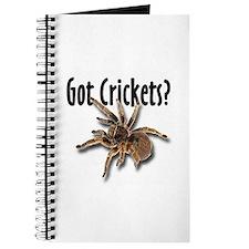 Tarantula Got Crickets Journal