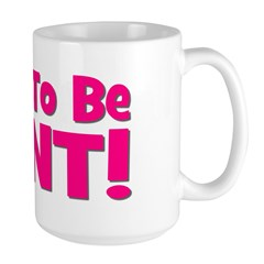 Soon To Be Aunt! Pink Mug