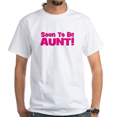 Soon To Be Aunt! Pink Shirt