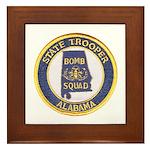 Alabama Bomb Squad Framed Tile