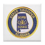 Alabama Bomb Squad Tile Coaster