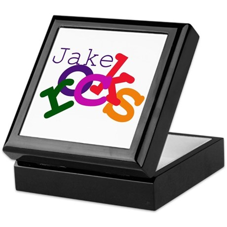 Jake Rocks Keepsake Box