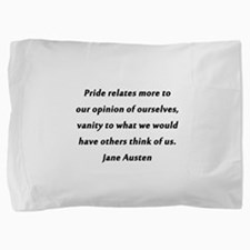 Austen - Pride and Vanity Pillow Sham