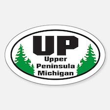 Upper Peninsula Oval Decal