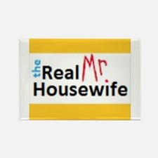 Real Mr. Housewife Rectangle Magnet