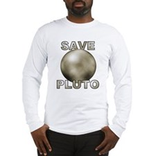 Cute Save pluto Long Sleeve T-Shirt