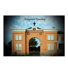 Evergreen Cemetery Gatehouse Postcards (Package of