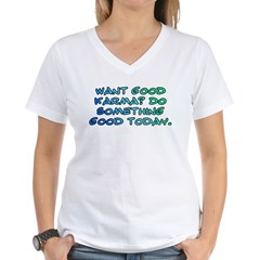 Want good karma? Shirt
