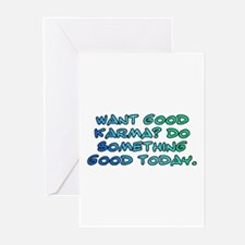 Want good karma? Greeting Cards (Pk of 20)