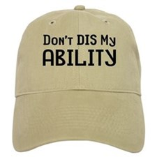 Don't Ability Baseball Cap