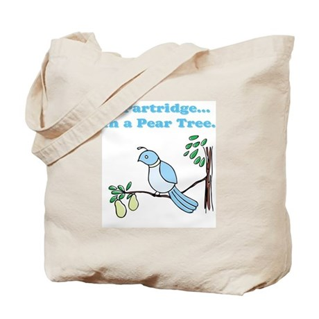 partridge & pear tree Tote Bag