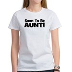 Soon To Be Aunt! Black Women's T-Shirt