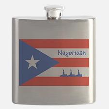 Nuyorican Statue of Liberty New York City 3 Flask