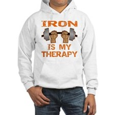 Iron Is My Therapy Hoodie