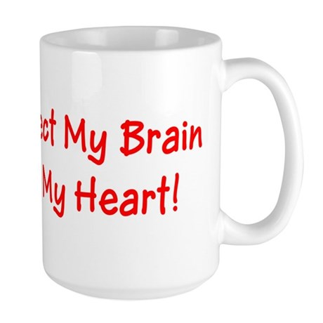 MS Affects My Brain Never My Heart Mug